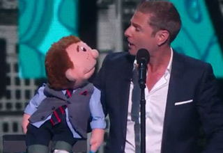 Dummy Performs After Ventriloquist Leaves