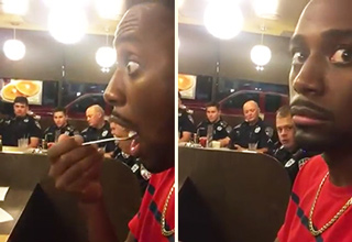 When The Diner You Eat In Is Full Of Cops