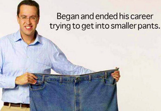 9 Jared Fogle Jokes That Are WAY Too Soon