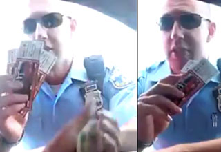 Cop Busted on Hidden Camera Extorting Driver