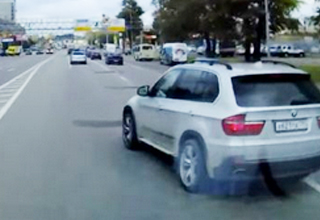 Douchebag in BMW Cuts Off Ambulance Multiple Times, Later Arrested For It