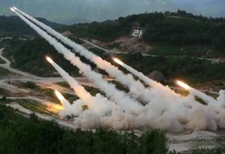 US & Korea Live Fire Military Exercise