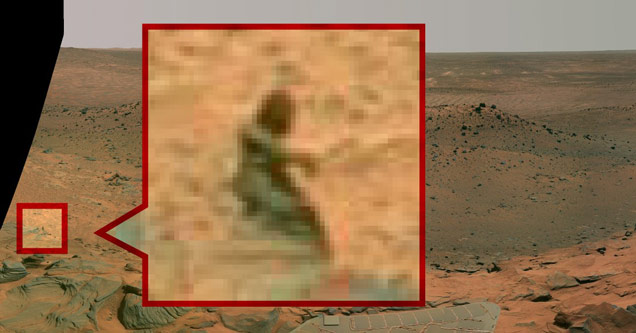 14 Bizarre Things Found On The Surface Of Mars
