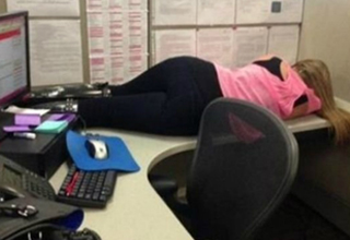 30 Pictures of People Caught Sleeping on The Job