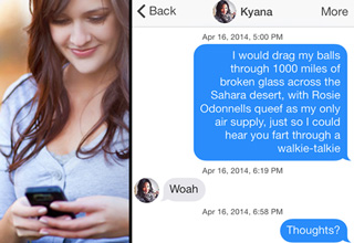 22 Tinder Pickup Lines That Worked…Sort of