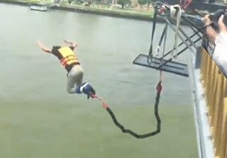 Bungee Jump Gone Wrong
