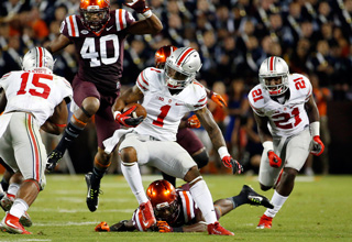 Braxton Miller's Xbox Level Spin Move