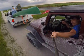 Idiot Almost Kills Himself Trying To Take A Selfie