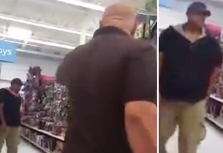 Father Goes Off After Catching Pervert Taking Video Up His Daughters Skirt In Walmart