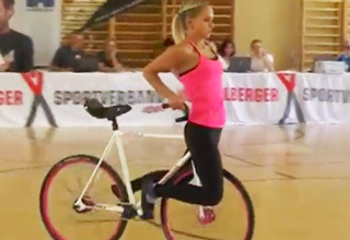 You Won't Believe What This Girl Can Do On a Bicycle