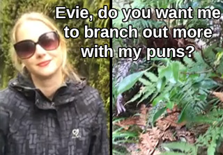 Guy Annoys Girlfriend With Puns On A Nature