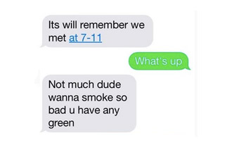 Guy Texts The