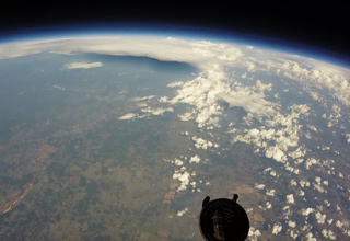 Guy Sends His GoPro Into Near Space