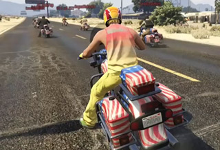 How To Win A GTA V Motorcyle Race
