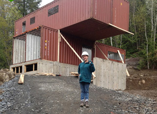 Man Turns Shipping Containers Into