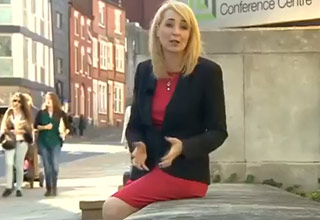 Reporter Is Sexually Harassed, While Reporting On Sexual Harassment