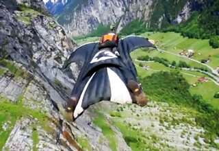 Beyond a Shadow of a Doubt, The Most Insane Wingsuit Flight Ever