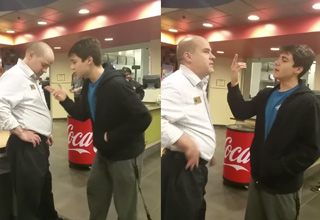 Wasted Frat Bro Demands Mac and Cheese, Assaults Employees, Gets Arrested