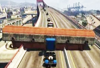 Insane Ramp Truck Mod In GTA 5