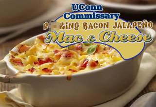 Conan's Ad For UConn's Mac And Cheese