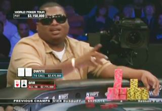 Poker Player Too Confident With His Hand