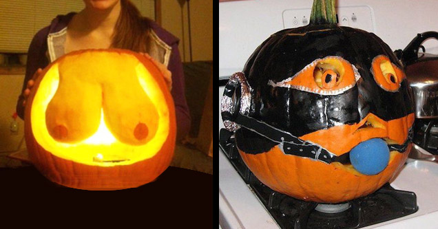 15 Pumpkins That Are Kinky As HELL