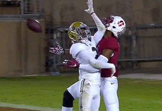 Stanford WR Francis Owusu's  Catch Of The Year