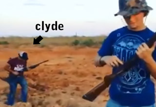 Clyde Ruins A Gun Safety Video