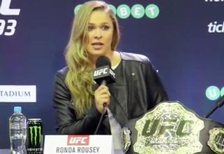 Ronda Rousey Shuts Down Feminist!