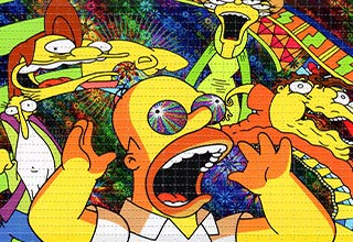 Guy Spends Two Days Taking LSD And Watching The Simpsons
