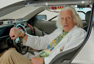 The Future Is Now! A Special Message From Doc Brown