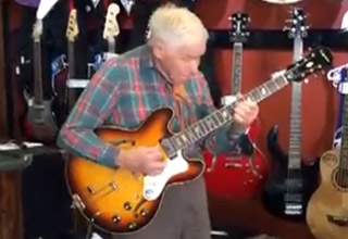 Grandpa Surprises Everyone With His Guitar Skills