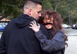 Zombie Attack Puppet - Halloween Scare Prank