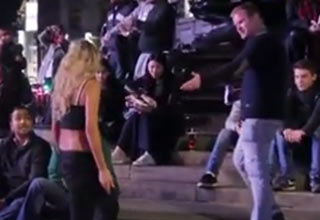 Douche Gets Instant Karma After Calling Woman A