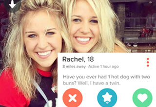 Hot Tinder Girls That Got Straig