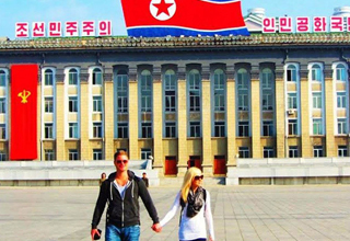 A Traveling Couple Documents Their Extremely Bizarre Trip to North Korea