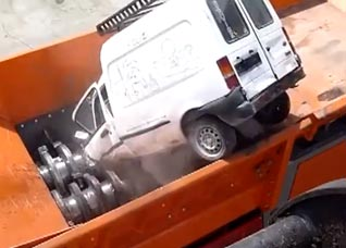 This Machine Can Destroy Anything