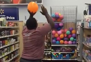 Just Ballin Out In Walmart When Suddenly...