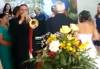 Worst Wedding March Performance Ever