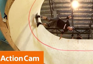Tony Hawk Skates The First-Ever Horizontal Loop