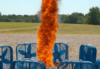 This Fire Tornado In Slow Motion Is Simply Mezmerizing