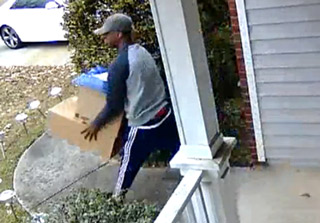 Scumbag Stealing Packages Right Off The Porch