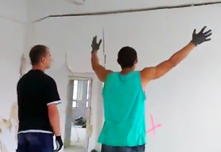 Man Knocks Down Wall By Screaming At It
