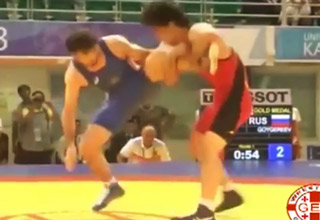 The Best Single-Leg Takedown Defense Ever Seen