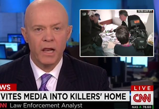Law Enforcement Analyst Dumbfounded As Media Digs Through A Suspected Terrorist's Home