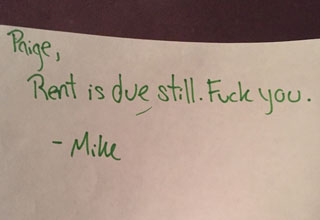 11 Hilarious Notes From Landlords To Their Tenants