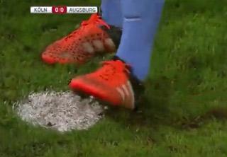 Goalkeeper Busted Sabotaging A Penalty Shot