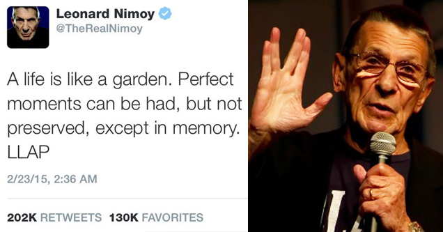 14 Last Tweets From Celebs Right Before They Died
