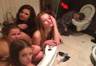 34 People Who Picked A Bad Time To Pass Out