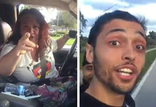 Crazy Racist Woman Accuses 2 Guys Of Being Terrorists